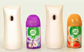 Как работает автоматический освежитель воздуха air wick