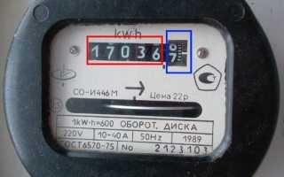 Как посчитать показания электросчетчика
