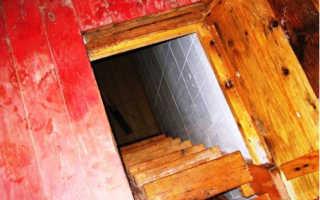 Как правильно сделать лестницу в подвал
