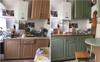 Как обновить коричневую кухню