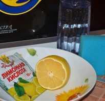 Как правильно помыть микроволновку