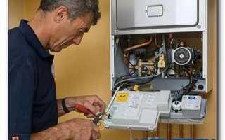 Как починить газовый котел