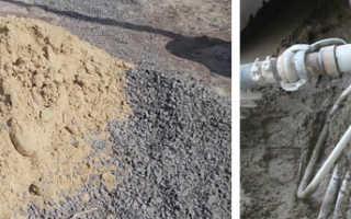 Как разбавить цемент с песком
