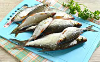 Как приготовить речную мелкую рыбу в духовке
