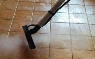 Как отмыть плитку от клея после ремонта
