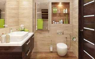 Как оформить стены в туалете без плитки