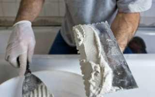 Как разводить цементную штукатурку