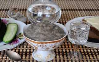 Как очистить икру сазана в домашних условиях