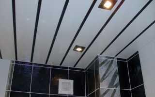 Как правильно сделать потолок из панелей пвх