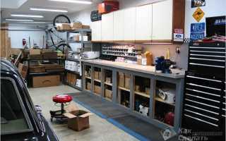 Как правильно оборудовать гараж