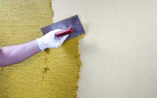 Как правильно наносить декоративную штукатурку на стены