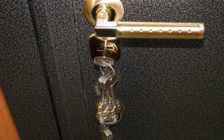 Как правильно ставить входную железную дверь