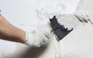 Как правильно накидывать штукатурку на стену мастерком