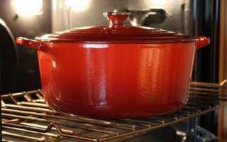Как очистить пригоревшую эмалированную кастрюлю изнутри