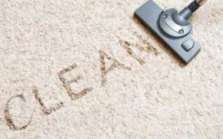 Как отстирать палас в домашних условиях