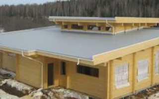 Как построить дом с плоской крышей
