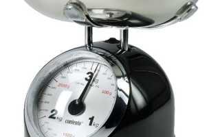 Как работают кухонные весы