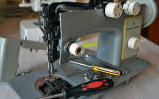 Как починить швейную машинку чайка