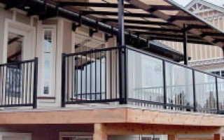 Как отделать балкон в частном доме