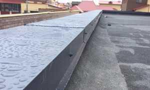 Как покрыть двускатную крышу рубероидом