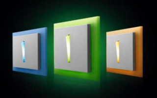 Как подключить одноклавишный выключатель с индикатором
