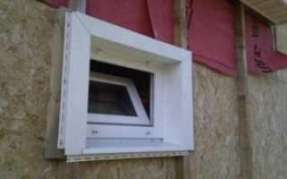 Как отделать окно при обшивке сайдингом