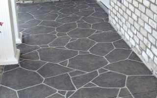 Как покрасить декоративный камень из цемента