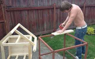 Как построить самую простую будку для собаки