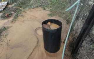 Как очистить скважину от песка своими руками