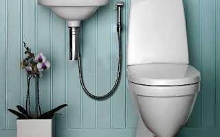 Как работает гигиенический душ со смесителем