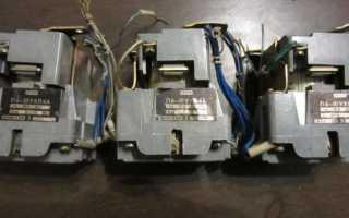 Как подключить пускатель 220 вольт