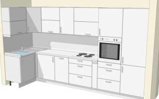 Как правильно выбрать высоту кухни
