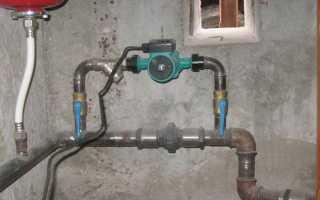 Как правильно запустить циркуляционный насос отопления