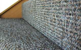 Как постелить ковролин на лестницу
