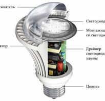 Как работает диодная лампочка