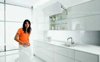 Как помыть глянцевую кухню без разводов