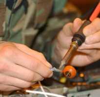 Как научится паять провода
