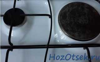 Как очистить поверхность электрической плиты