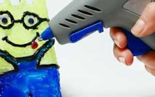Как работать с горячим клеем пистолетом