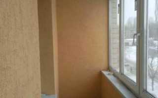 Как отделать балкон декоративной штукатуркой
