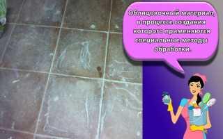 Как отмыть шпаклевку с плитки