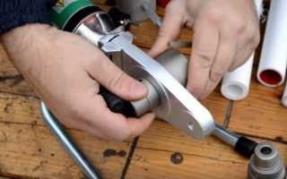 Как правильно паять ппр трубы