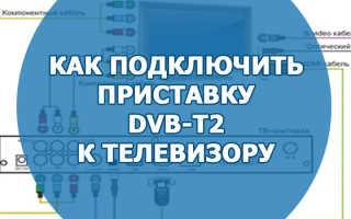 Как подключить ресивер цифрового телевидения к телевизору