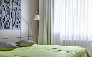 Как оформить стенку в спальне