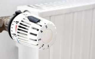 Как пользоваться термостатом на батарее