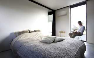 Как правильно повесить кондиционер в спальне