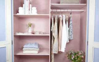 Как оформить гардеробную комнату небольшого размера фото