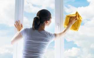 Как помыть окна без моющих средств