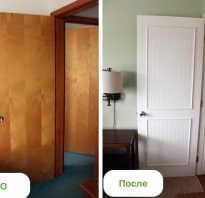 Как обновить старую крашеную дверь