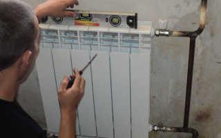 Как подключить биметаллический радиатор отопления в квартире